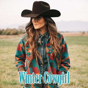 Winter Cowgirl