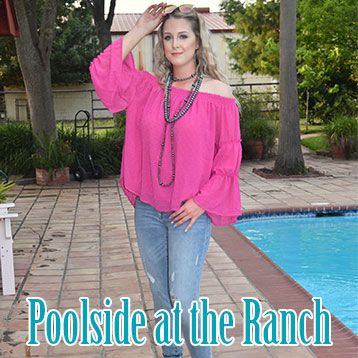 Poolside at the Ranch
