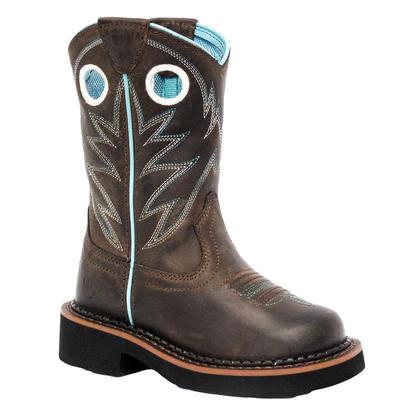 Ariat Fatbaby Youth Distressed Brown Boot
