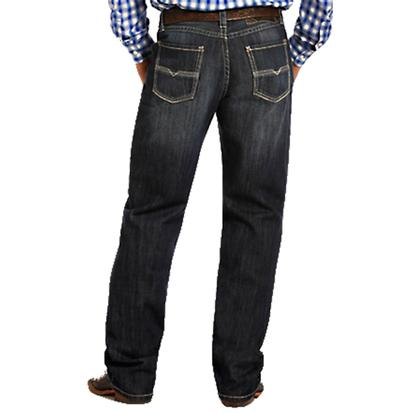 Rock & Roll Cowboy Men's Tuf Cooper Competition Fit Boot Cut Jeans