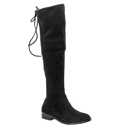 Very Volatile Briar Tall Black Suede Women's Boots