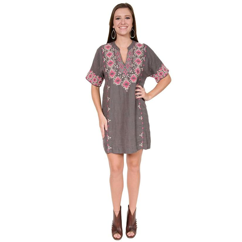 Johnny Was Womens Paige Easy Tunic