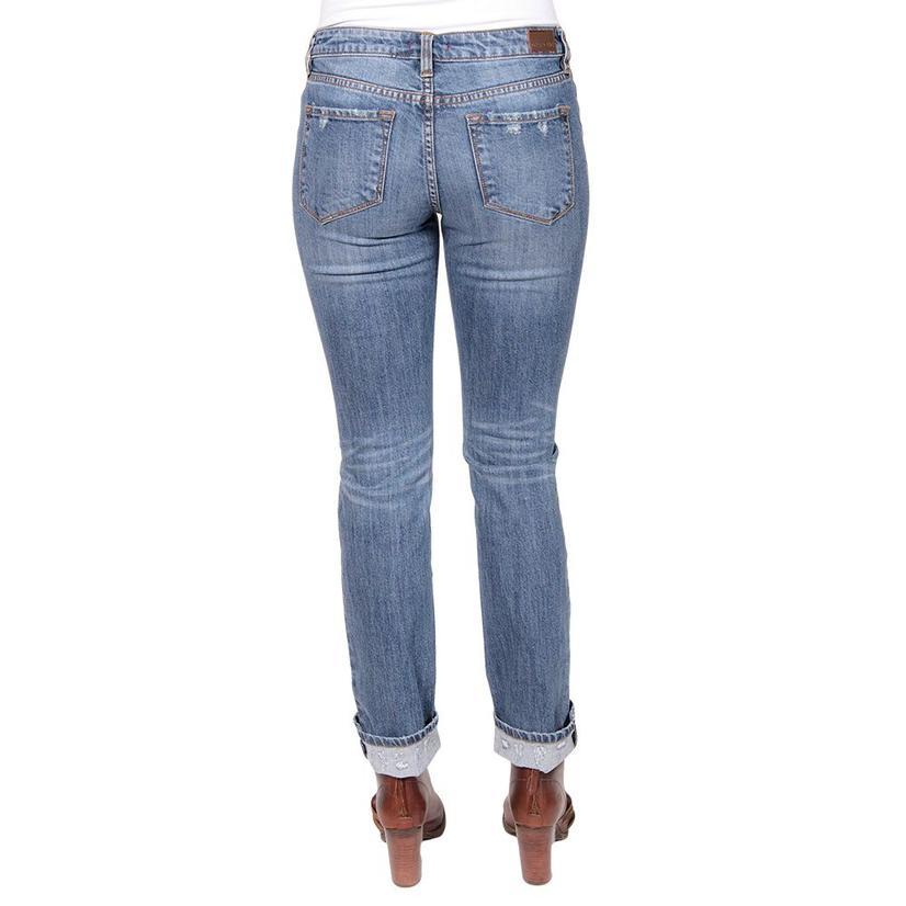 Dear John Denim Womens Playback Straight Argenta Jeans