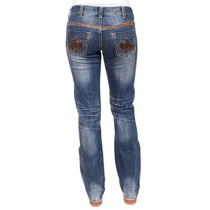 Cowgirl Tuff Womens Wild and Wooly Rides Again Jean