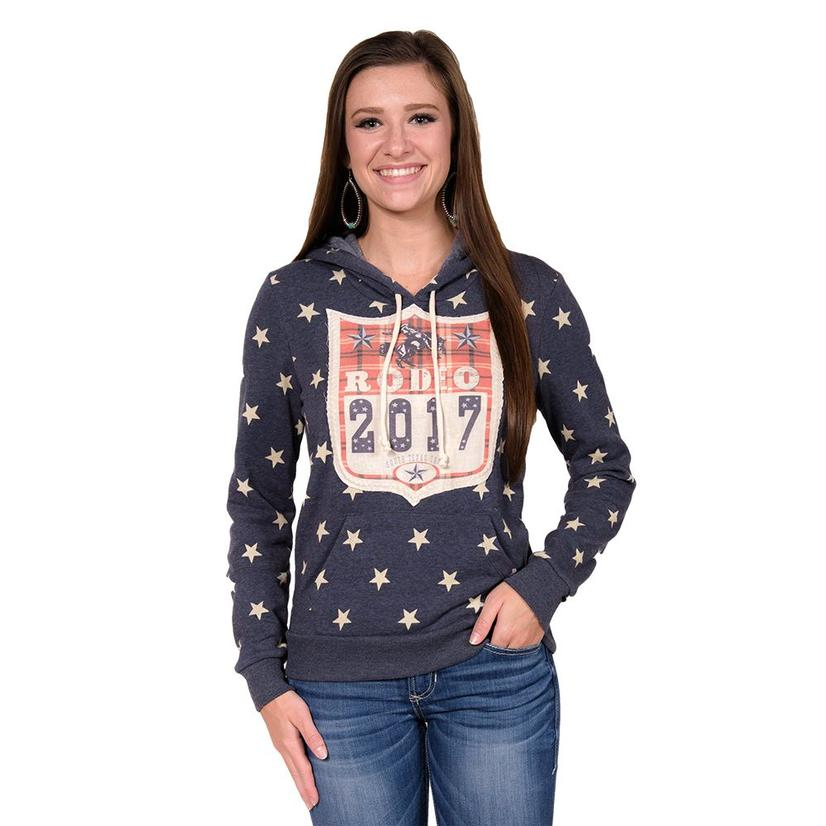 STT Womens Texas Star Rodeo Hoodie