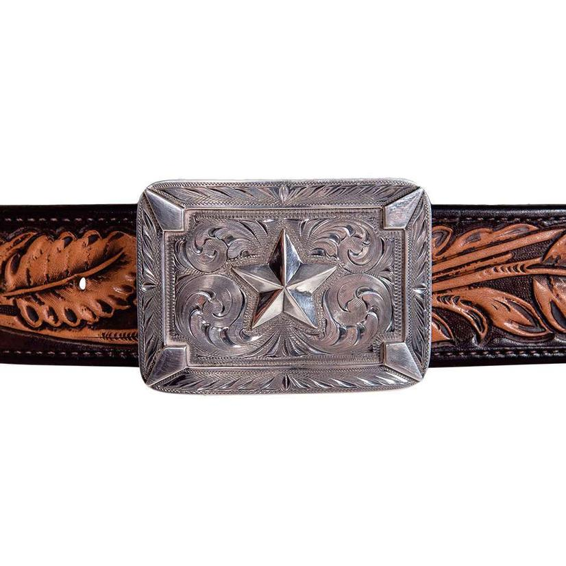 Clint Orms Sabine Sterling Star Belt Buckle