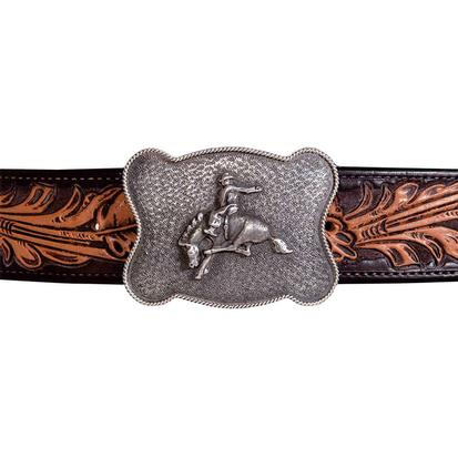 Clint Orms Washington Bronc Sterling Silver Buckle