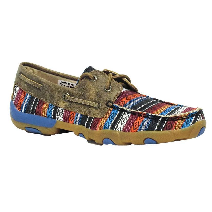 Twisted X Womens Serape Boat Shoe