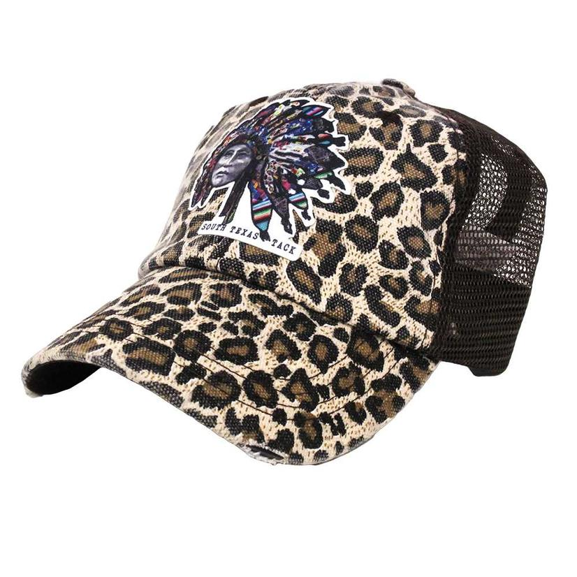 STT Serape Chief Leopard Print Cap