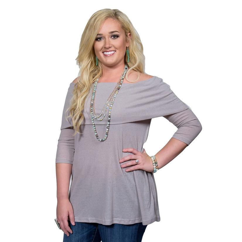 STT Womens Long Sleeve Tunic Top