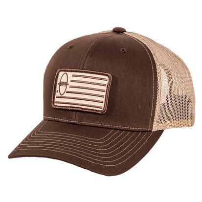 STT Brown Khaki Flag Cap