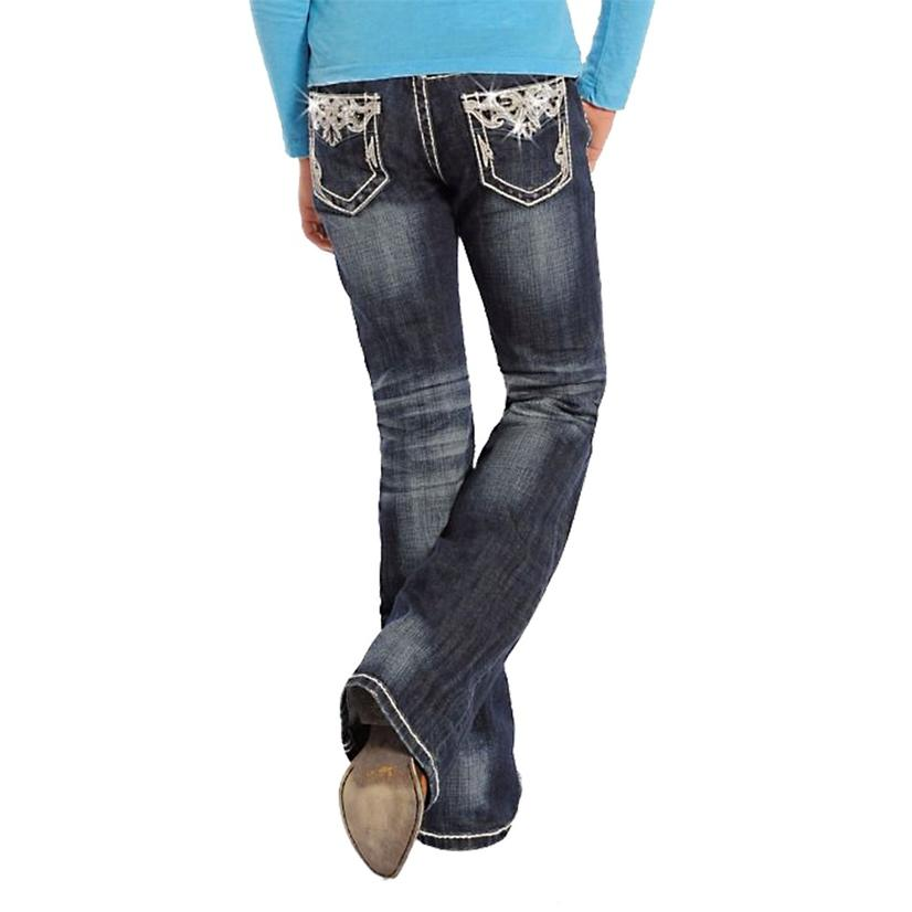 Rock & Roll Cowgirl Girls Vintage Jeans