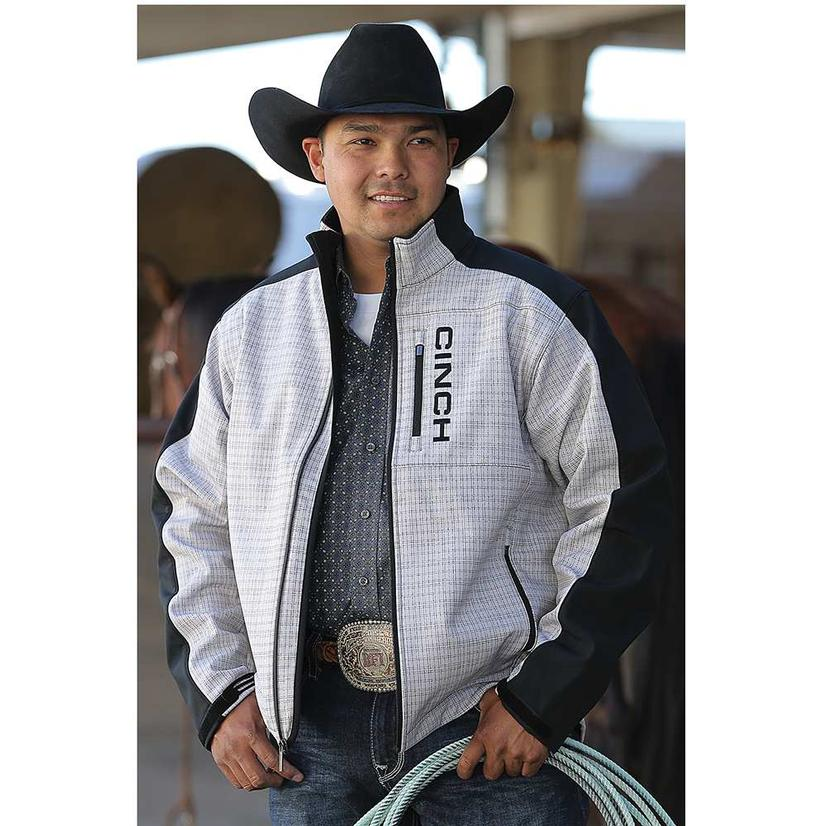 Cinch Mens Bonded Pieced And Printed Jacket