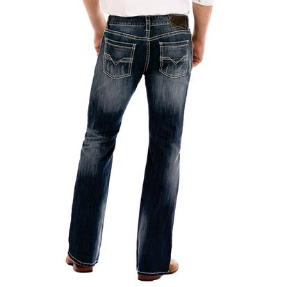 Rock & Roll Cowboy Pistol Straight Leg Medium Wash Jean