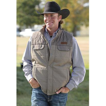 Cinch Mens Quilted Polyfill Vest