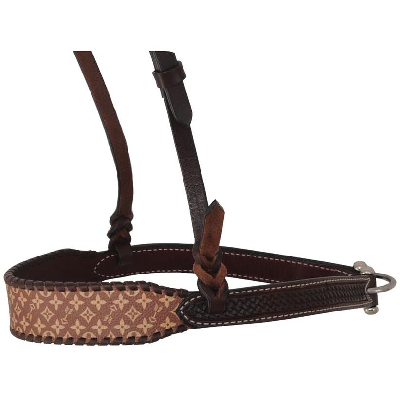 Rafter T Ranch Noseband Brown Collection