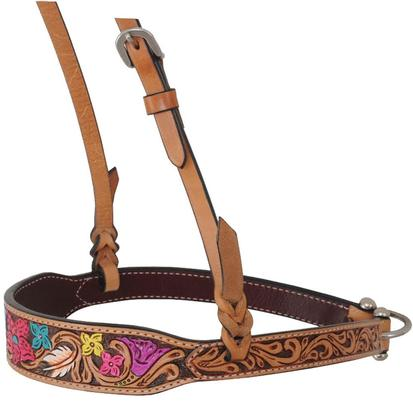 Rafter T Ranch Noseband Hand Painted Floral Collection