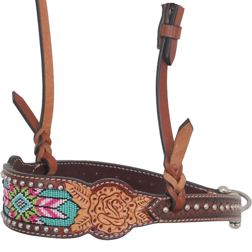 Rafter T Ranch Noseband Beaded Inlay Collection