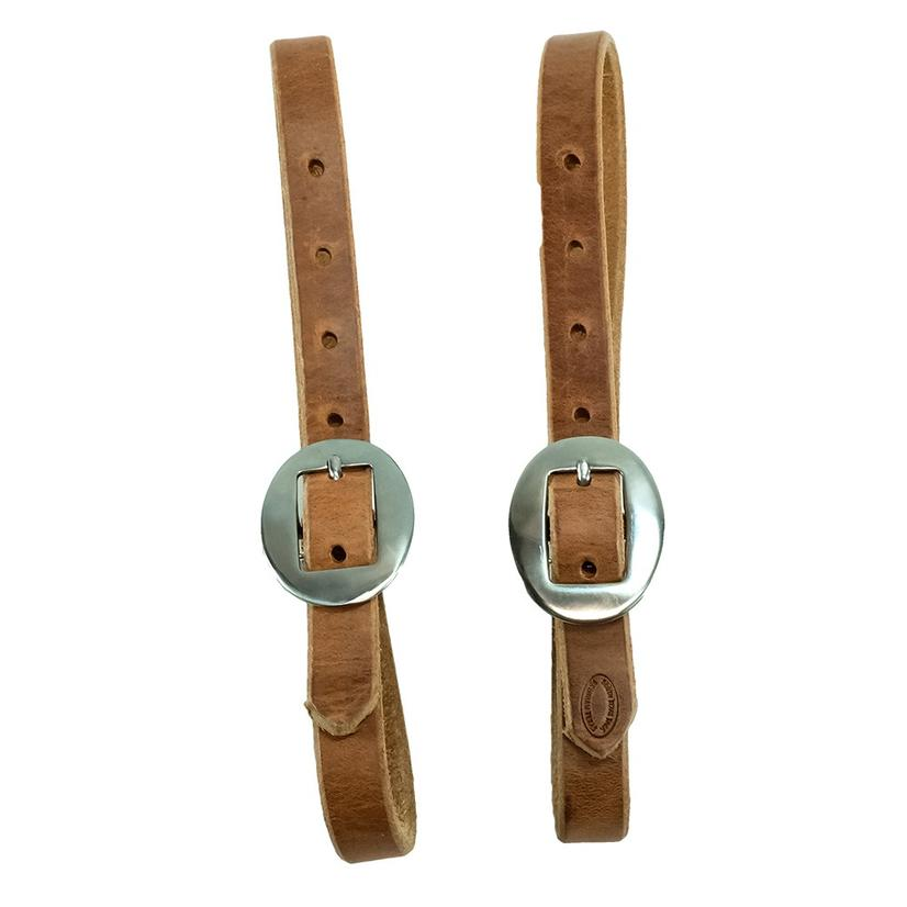Leather Breast Collar Tugs 3/4 Inch
