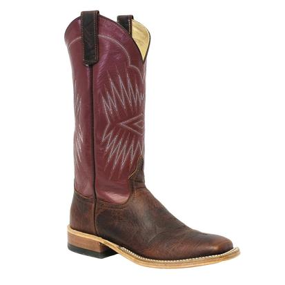Anderson Bean Womens Coffee Bison Vermouth Kidskin Boots