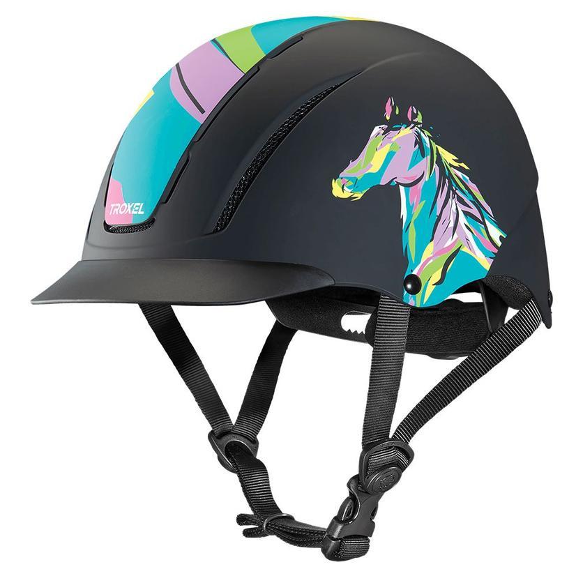 Troxel Spirit Graphic Print Riding Helmet POP_ART_PONY