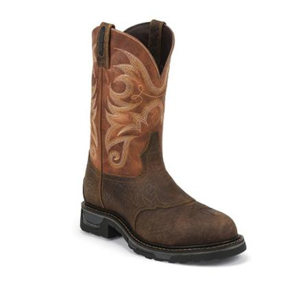 Tony Lama Sierra Badlands Waterproof Western Work Boots