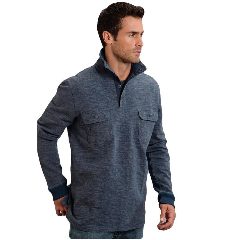 Stetson Men's Bamboo Look Knit Pullover