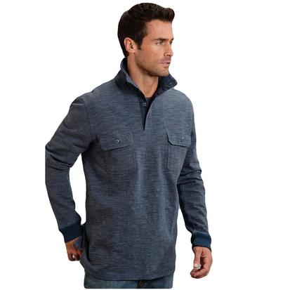 Stetson Mens Bamboo Look Knit Pullover