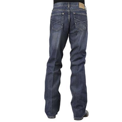 Stetson Mens Modern Fit Western Denim Jeans