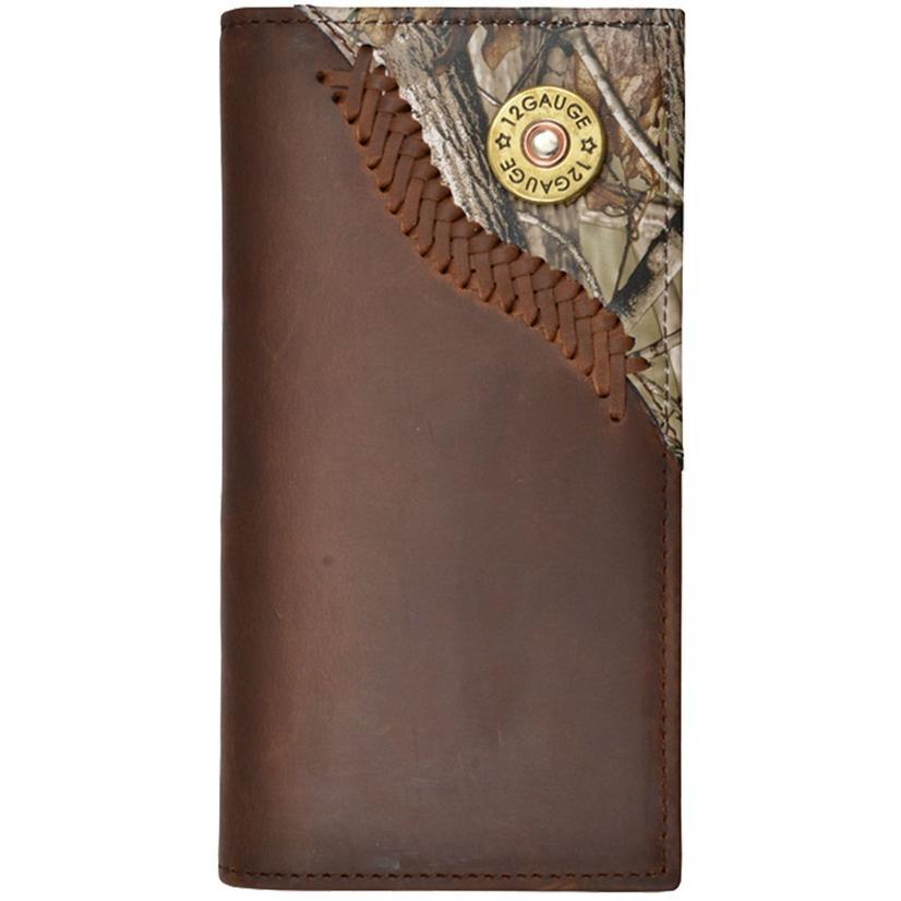 Justin Original Shotgun Brown Outdoor Rodeo Wallet