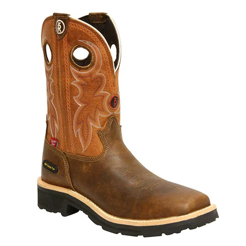 Tony Lama Mens Tan Comanche 3r Work Boot