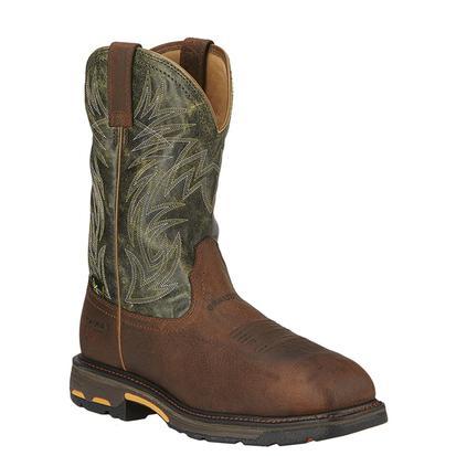 Ariat Mens Workhog Internal Met Guard Work Boots