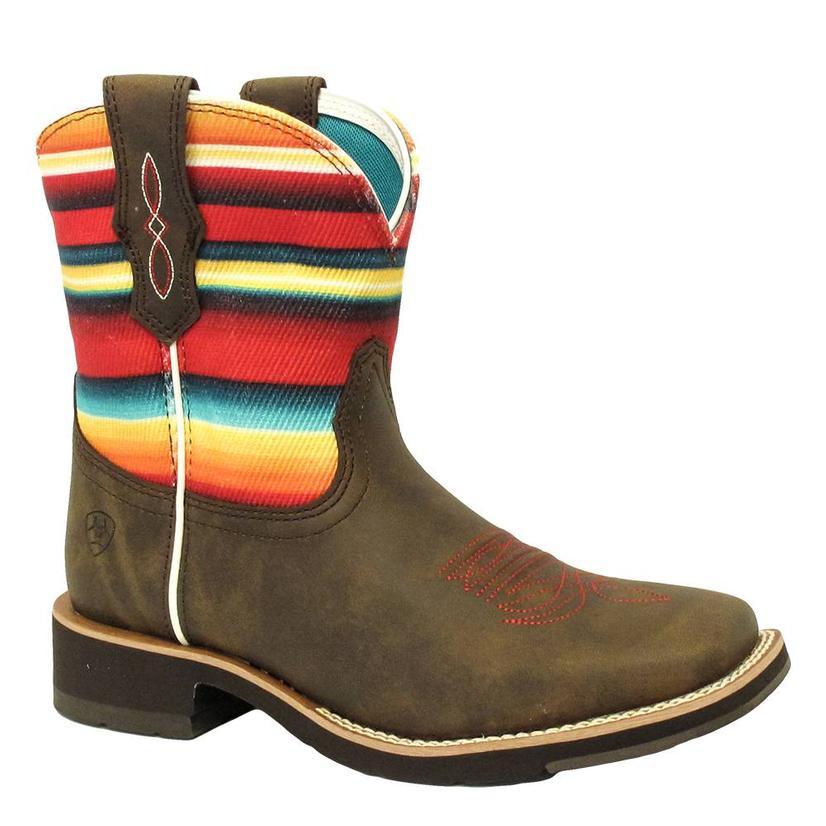 Ariat Womens Rosie Serape Shortie Boot