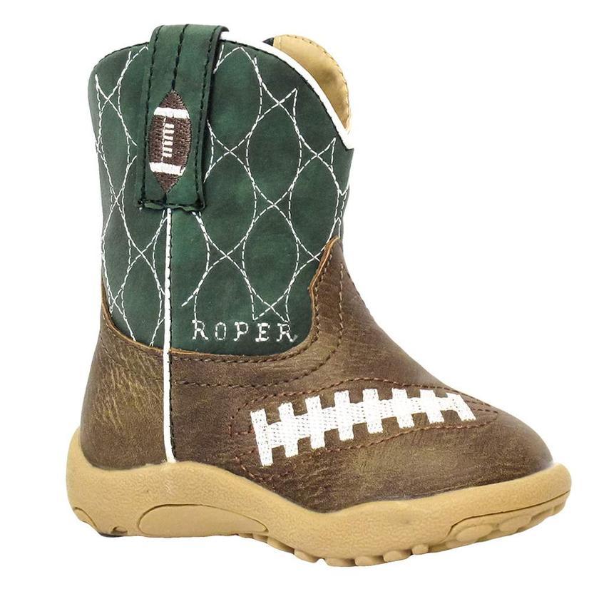 Roper Infant Kelly Green Football Boots