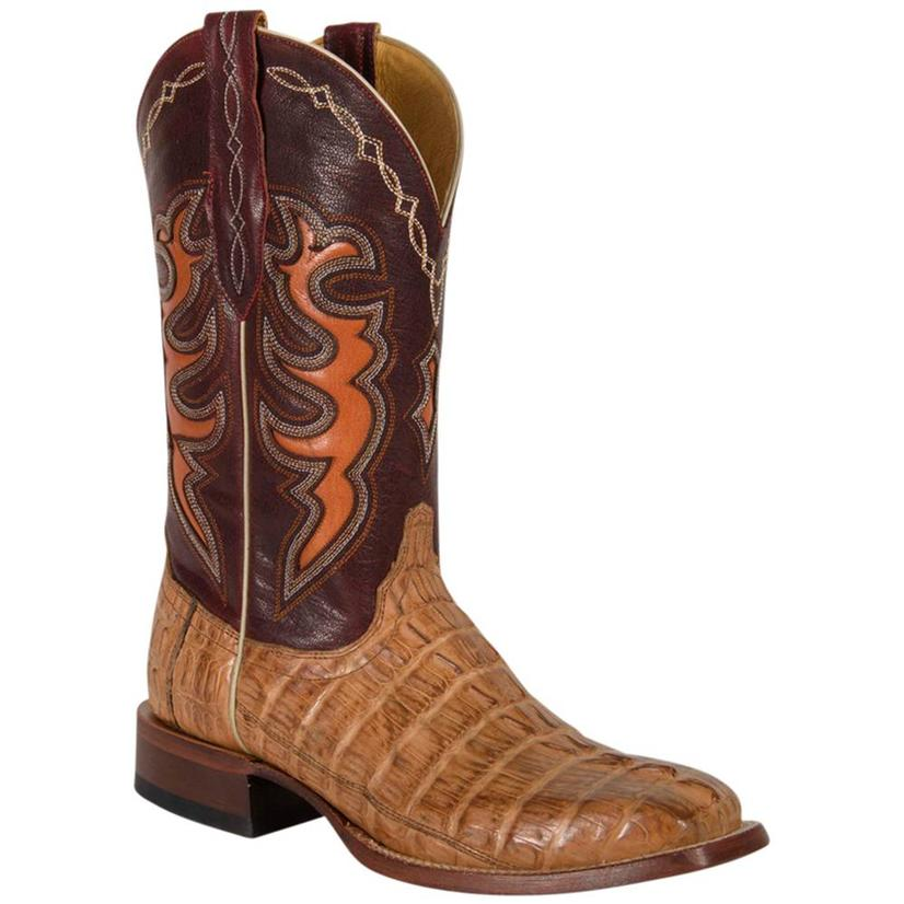 Cinch Mens Caiman Tail Boots