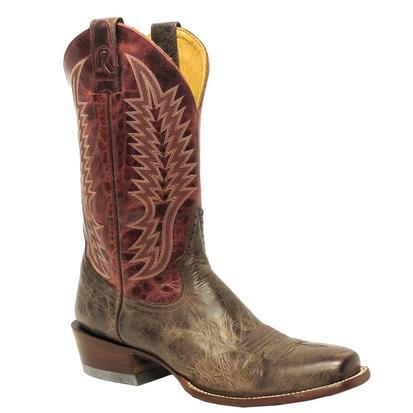 Rod Patrick Mens STT Mocha Bison Boot