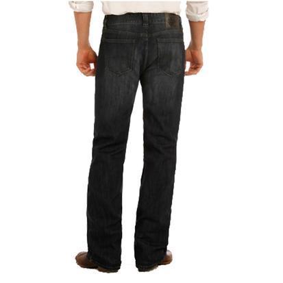 Rock & Roll Cowboy Mens Reflex Pistol Straight Leg Jeans