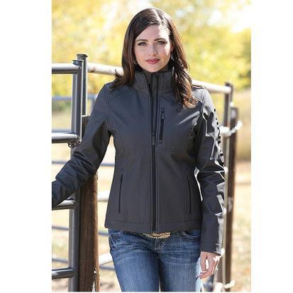 Cinch Womens Herringbone Printed Bonded Jacket