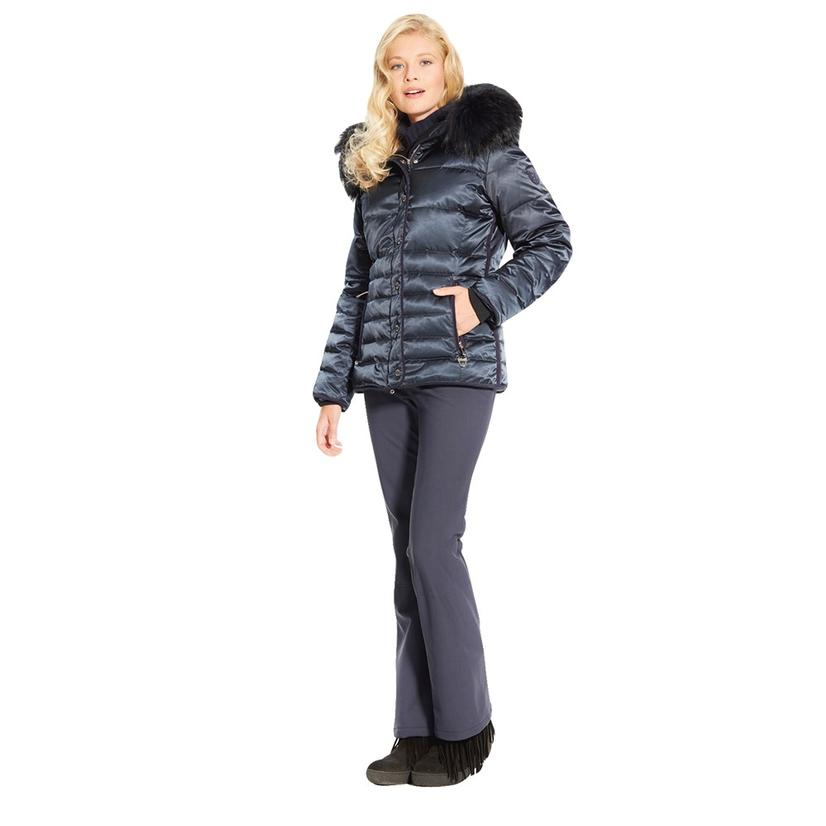 Miller Womens Inga Quilted Down Jacket NVY