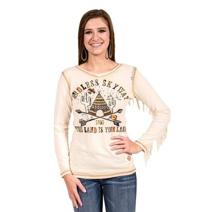Double D Ranch Womens Endless Skyway Tee