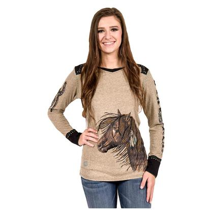 Double D Ranch Womens Restless One Tee