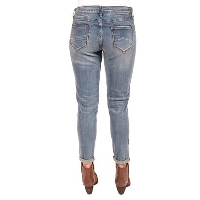 Driftwood Womens Beau Skinny Crop Floral Hip Jeans