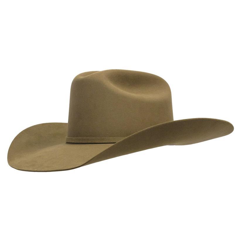 3cf1ab8ab22b8 Resistol Arena 40X 4.25in Brim Dunn Felt Western Hat - Precreased