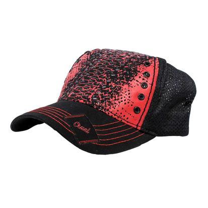 Cruel Girl Red & Black Cap