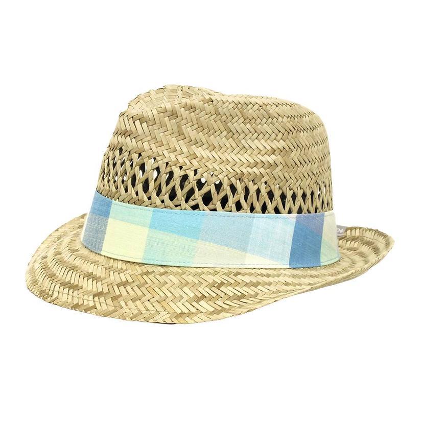 Columbia Sun Drifter Straw Hat W/Cloth Band