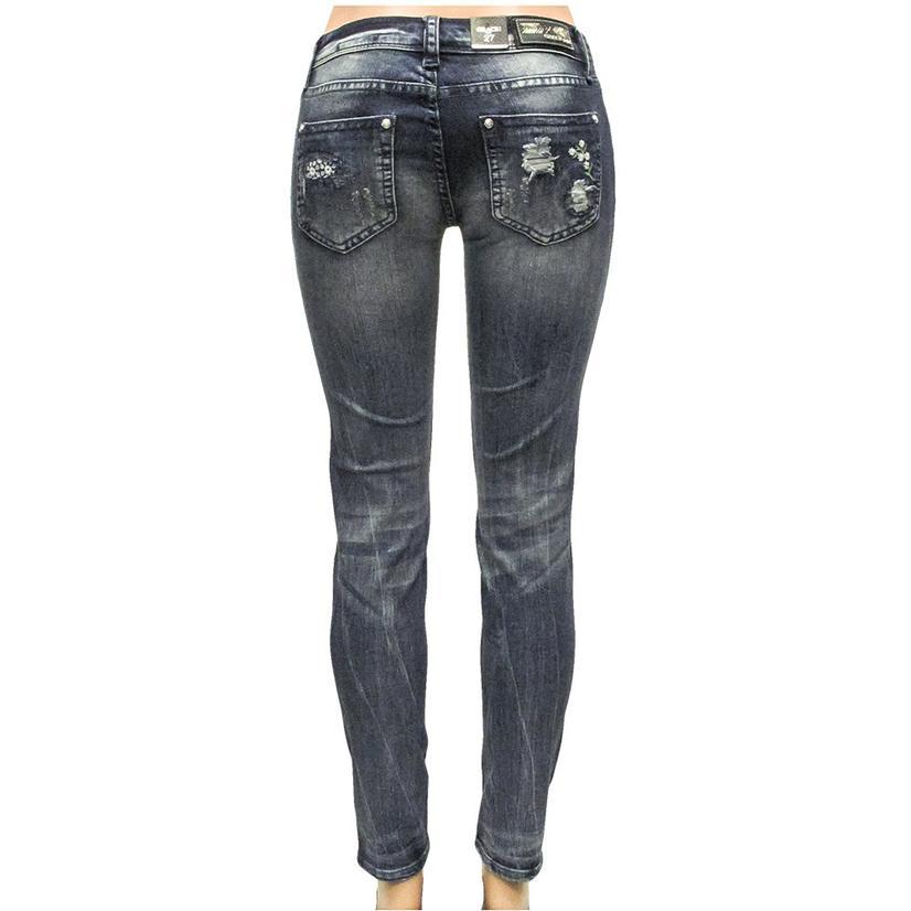 Grace In La Women's Skinny Jeans