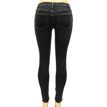 Vigoss Womens Dark Wash Super Soft Marley Skinny Jean