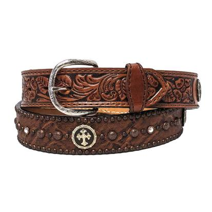 Double J Saddlery Mens Bark Elephant Print Belt