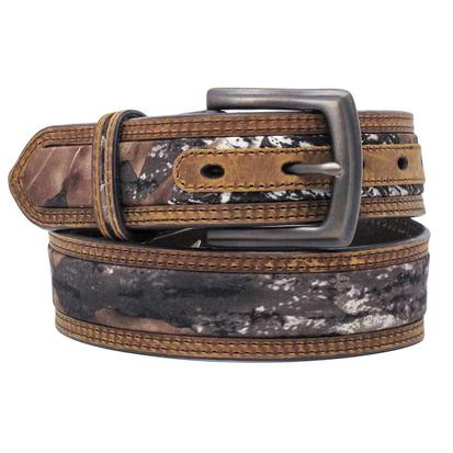 M&F Western Mens Mossy Oak Inlay Belt