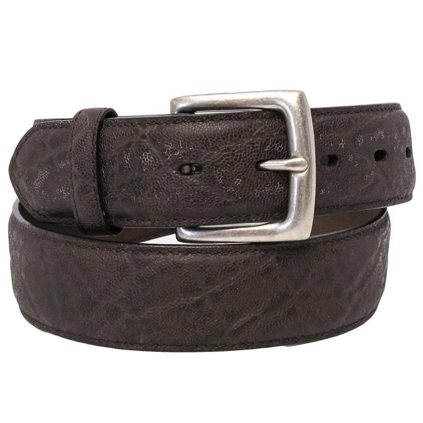 3d Mens Dark Brown Dress Belt
